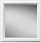 Universal White 6 x 8 - 1 Lite Glass and Frame