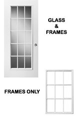GLASS \u0026 FRAMES  sc 1 st  DIY Door Store & Taylor Entry Door Parts | Bottom Sweeps | Weather Stripping | Hinges ...
