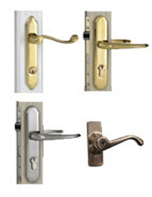 LEVER HANDLES  sc 1 st  DIY Door Store & Wartian Storm Door Parts | Handles | Levers | Closers | Door Kits pezcame.com