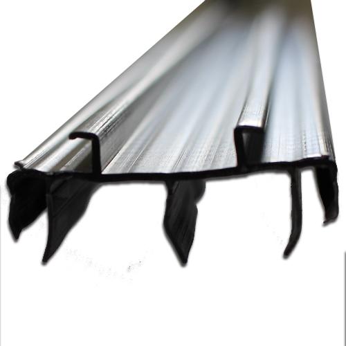 pease fiberglass door brown fin sweep 36