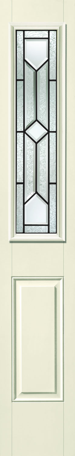 Therma tru crystalline 8 x 36 glass and frame for Therma tru fiber classic mahogany price