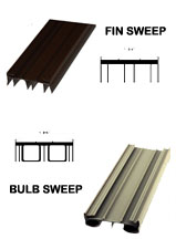 Taylor Entry Door Parts Bottom Sweeps Weather