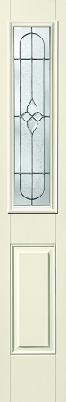 therma tru concorde 8 x 36 glass and frame