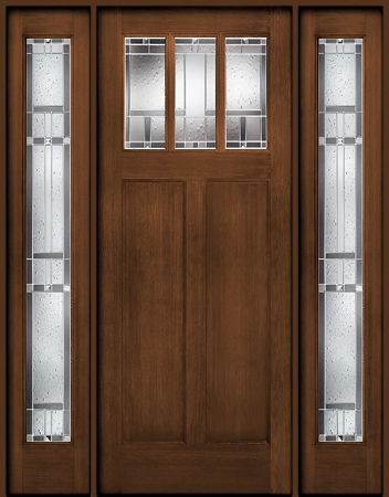 Therma Tru Classic Craft American Door And Two Sidelites