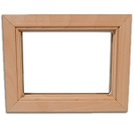DIY Interior Wood Door Insert Frame Only - 10 x 10