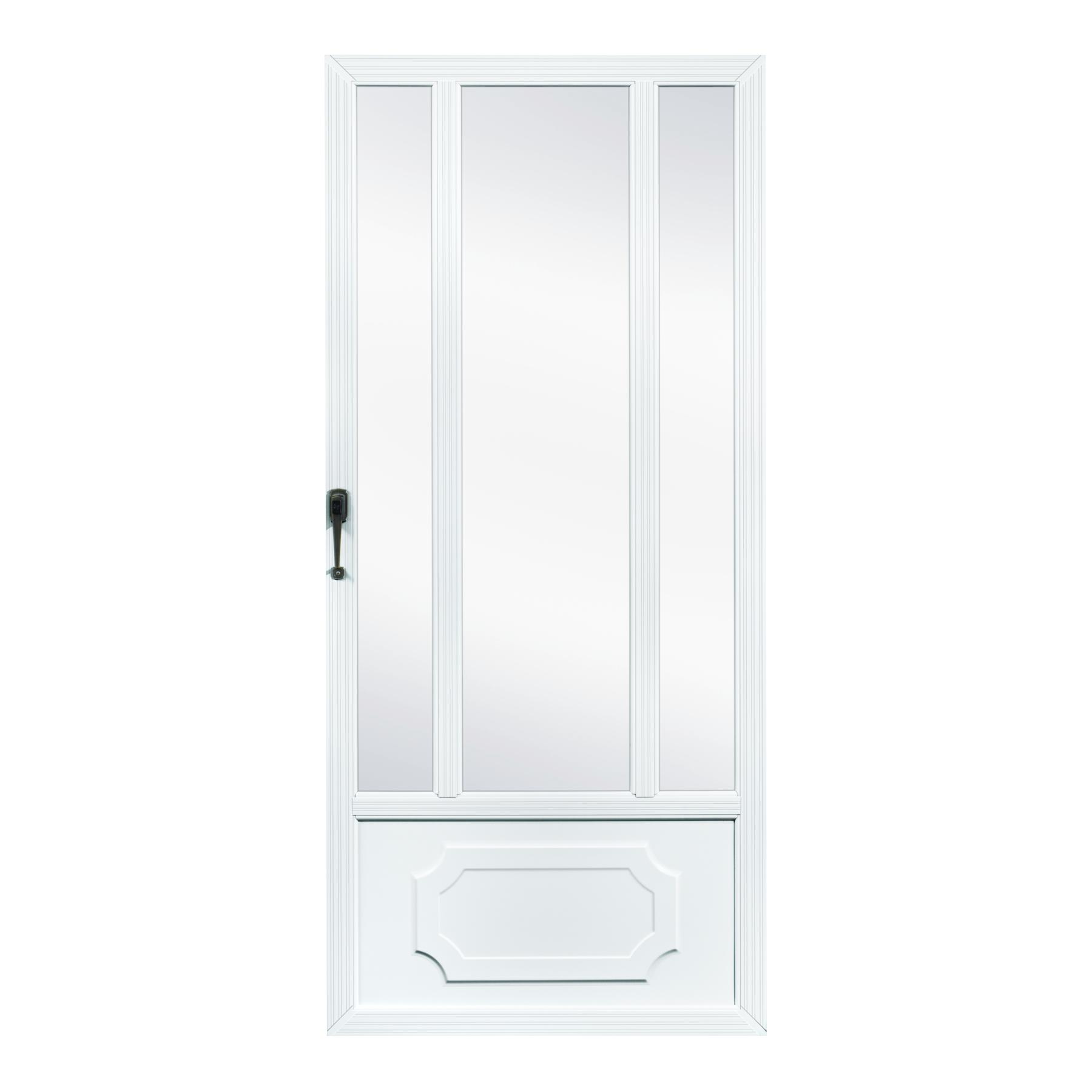 Fox weldoor model 320 custom storm door for Custom storm doors