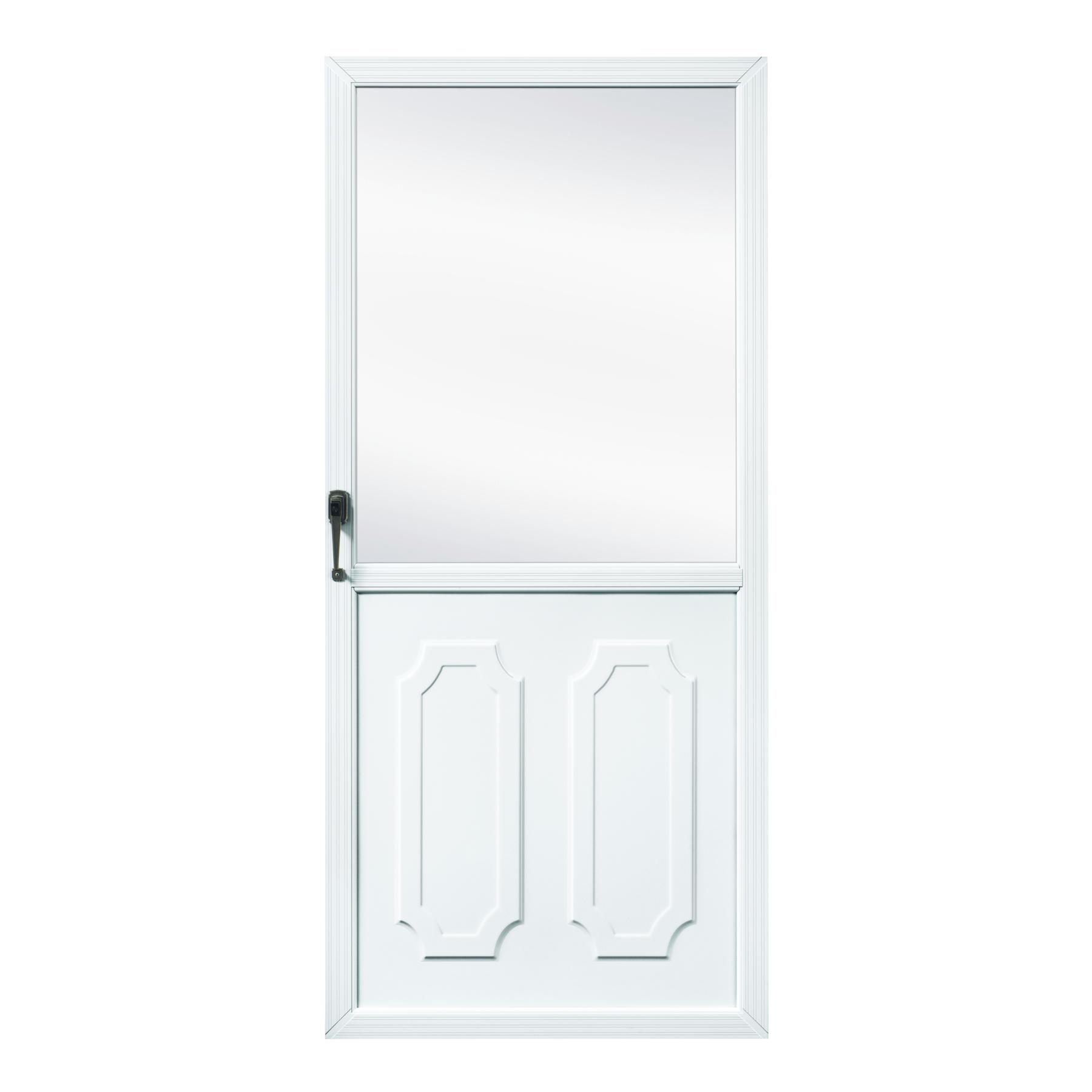 Fox weldoor model 140 custom storm door for Custom storm doors