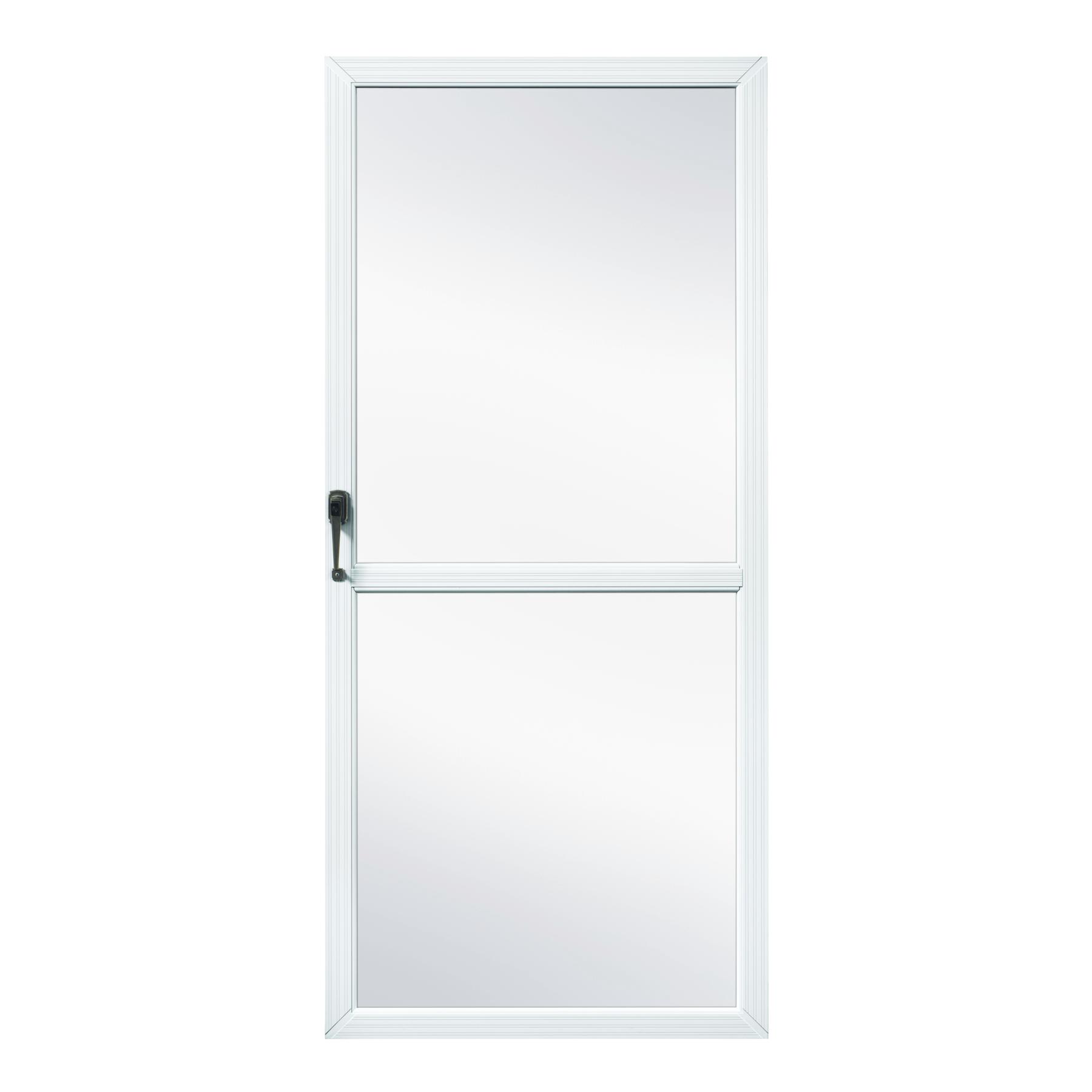 Fox weldoor model 200 custom storm door for Custom storm doors