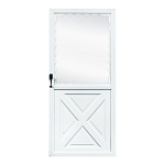Fox Weldor Crossbuck Storm Door