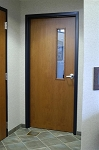 Solid Core 1 3/4 Birch Door & Redi-Frame