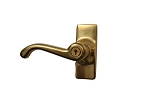 Wartian Polished Brass LH-5000-2 Lever Set