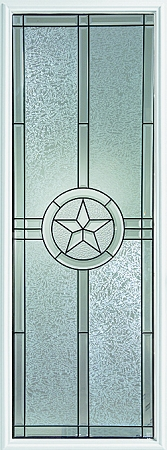 Western Reflections Radiant Star 22 X 64 Glass And Frame