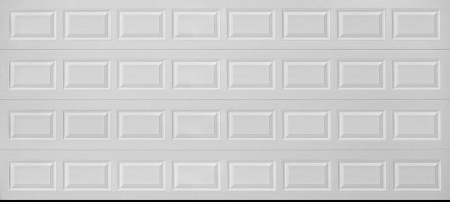 Taylor Liberty Silver Non Insulated 2 Car Garage Door: 2 car garage doors