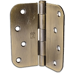 Taylor Perma Door 4 x 4 Antique Brass Hinges (Qty 3) (US5) (Post 1992)
