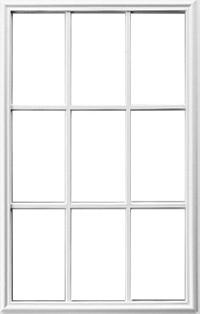 Universal White 22 X 36 9 Lite Frame