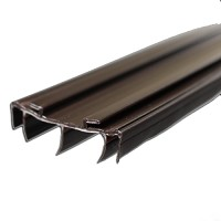 Pease Steel Door Brown Fin Sweep 36""