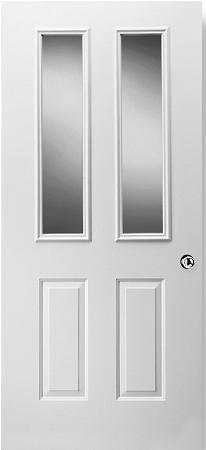Universal White 8 X 36 1 Lite Frame