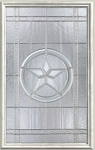 Therma-Tru Texas Star 22 x 36 Glass and Frame