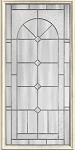 Therma-Tru Arden-Granite 22 x 47 Glass and Frame
