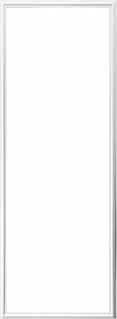 Universal White 22 X 64 1 Lite Frame
