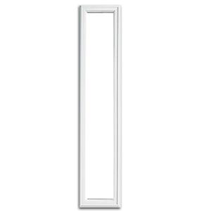 Universal White 8 X 48 1 Lite Frame