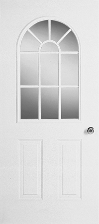 Universal 22 X 36 11 Lite Glass Amp White Frame