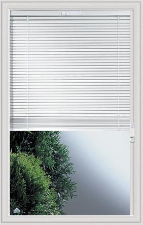 Universal White 22 X 36 Raise Amp Lower Blind Glass Amp Frame