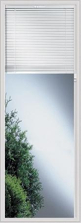 Universal 20 X 64 Raise Amp Lower Blind Glass Amp White Frame