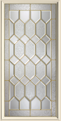 Therma Tru Crystalline 22 X 47 Glass And Frame