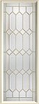 Therma-Tru Crystalline 20 or 22 x 64 Glass and Frame