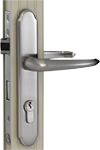 Wartian Eternity Satin Nickel Mortis Lever Lock