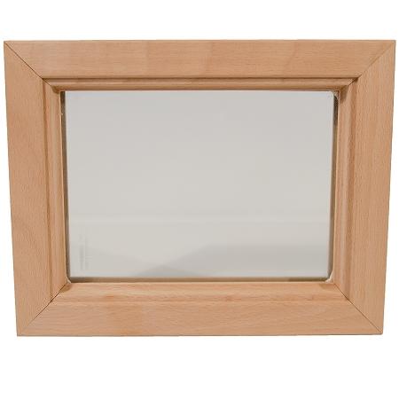 DIY Interior Wood Door Insert Glass and Frame - 20 x 24