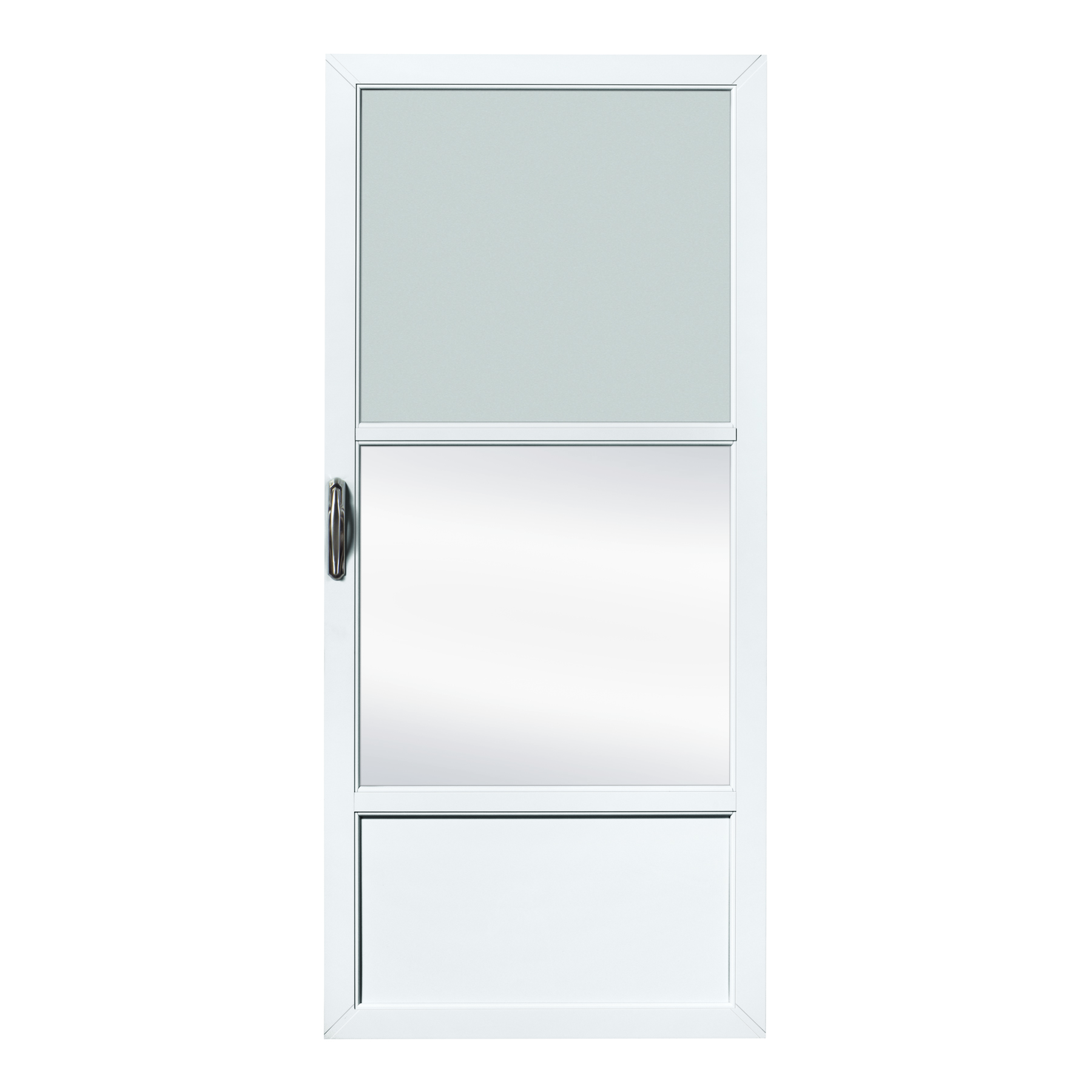 Fox Weldoor Model Self Storing Storm Door