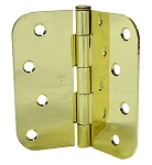 Masonite Door 4 x 4 Bright Brass Hinges (Qty 3) (US3)