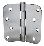 Masonite Door 4 x 4 Polished Chrome Hinges (Qty 3) (US26)