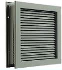 COMMERCIAL STEEL DOOR LOUVERS