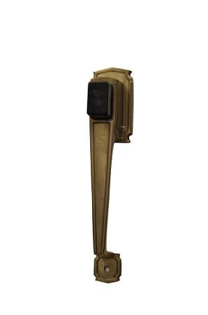 Wartian Polish Brass Sd 1600 Push Button Handle Set