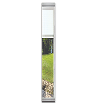 Universal White 8 x 80 - Hurricane Impact Raise & Lower Blind Glass & White Frame