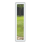 Universal White 8 x 48 - 1 Lite Glass and White Frame