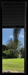 Universal 22 x 64 - Black Raise & Lower Blind Glass & Frame