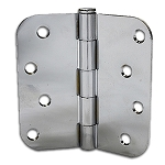 Taylor Perma Door 4 x 4 Polished Chrome Hinges (Qty 3)(Post 1992)
