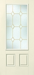 Therma-Tru Crystal Diamonds 22 x 47 Glass and Frame