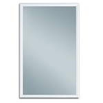 Universal 22 x 36 - 1 Lite Hurricane Impact Low E Glass & White Frame