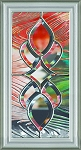 RSL Serenity 7 x 18 Glass and Frame