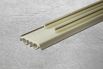 Masonite Castlegate Door Beige Bulb Snap In Sweep