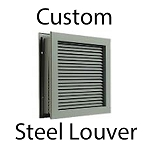 CUSTOM STEEL LOUVERS