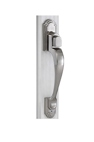 Trapp Classic 2100 Push Button Satin Nickel Handle Set