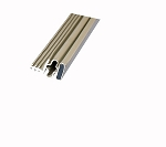 Q-Lon Beige Magnetic Seal for a 36 x 80 Door