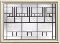 Therma-Tru Sedona 21 x 15  Glass and Frame