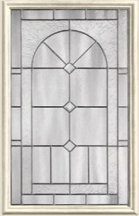 Therma-Tru Arden-Granite 22 x 36 Glass and Frame